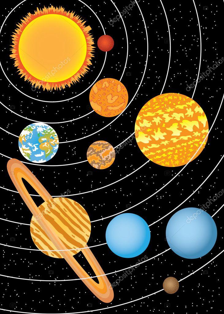 Как сделать солнечную систему своими руками из пластилина картинки