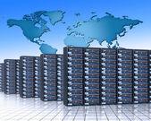La creación de redes — Foto de Stock