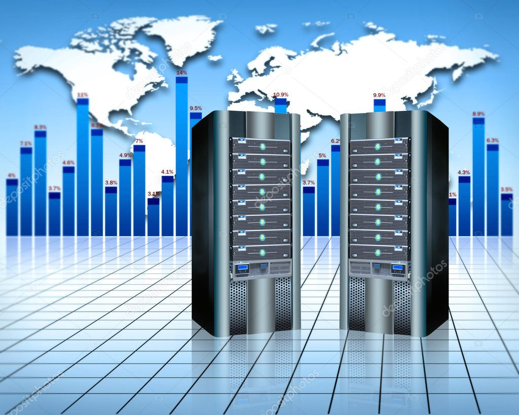 Web hosting services — Stock Photo #5805242