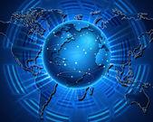 Espaço cibernético — Foto Stock