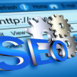 Website seo — Stock Photo