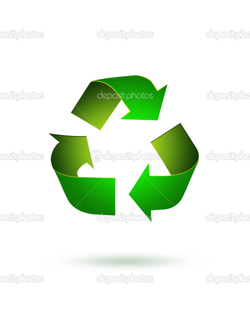 Recycle icon — Stock Photo #6736473
