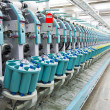 Stock Photo: Textile spinning factory