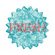 Button Icon: FRESH — Stock Photo #6053679
