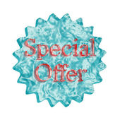 Button Icon: Special Offer — Stock Photo