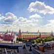 Aerial Kremlin view — Stock Photo #6577412