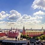 Aerial Kremlin view — Stock Photo #6577413