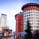 Multi-storey apartment block — Stock Photo