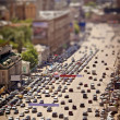 Stock Photo: Moscow view with tilt-shift effect