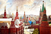 Vista aérea do kremlin — Foto Stock