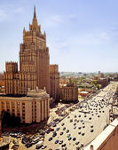 Moskova'da buiding dışişleri bakanlığı — Stok fotoğraf