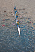 Rowing — Stock Photo