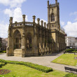 Stock Photo: Liverpool Bombed Church St Lukes