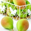 Pears in the basket — Stock Photo #6051888
