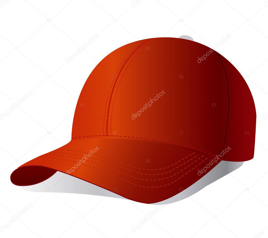 Vector baseball cap  — Stock Vector #5427333