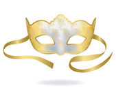 Venetian Carnival mask. — Stock Vector