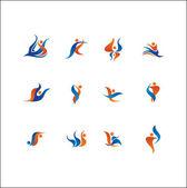 Logo elements — Stock Vector