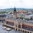 Krakow Market Square - Stock Photo