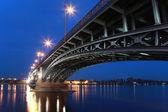 Theodor Heuss Bridge in Mainz — Stock Photo