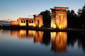 Templo de Debod in Madrid — Stock Photo