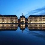 Bordeaux Place de la Bourse — Stock Photo