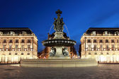Bordeaux Place de la Bourse — Stock Photo