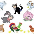 Royalty-Free Stock  : Farm animals,set