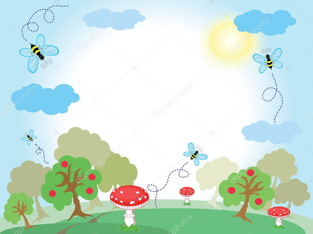  	Nature  Stock Vector #5869539