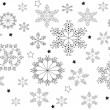 Christamas snowflakes — Stock Vector #6133599