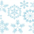 Royalty-Free Stock Vector Image: Christamas snowflakes