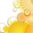Creative funky background - Imagen vectorial