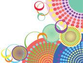 Creative funky background — ストックベクタ