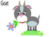 Vector djur, get — Stockvektor
