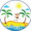 Summer icon — Stock Vector #6711353