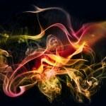 Colourful smoke — Stock Photo #5756151