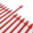 Stock Photo: 3D arrows