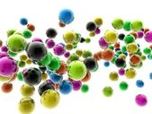 Colorful spheres — Stock Photo
