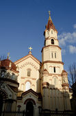 Church of St. Nicholas in Lirhuania. — Stock Photo