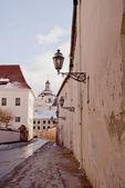 View of Vilnius oldtown street. Lithuania. — Stock Photo