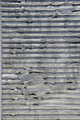 Metal finish on wall. — Stock Photo