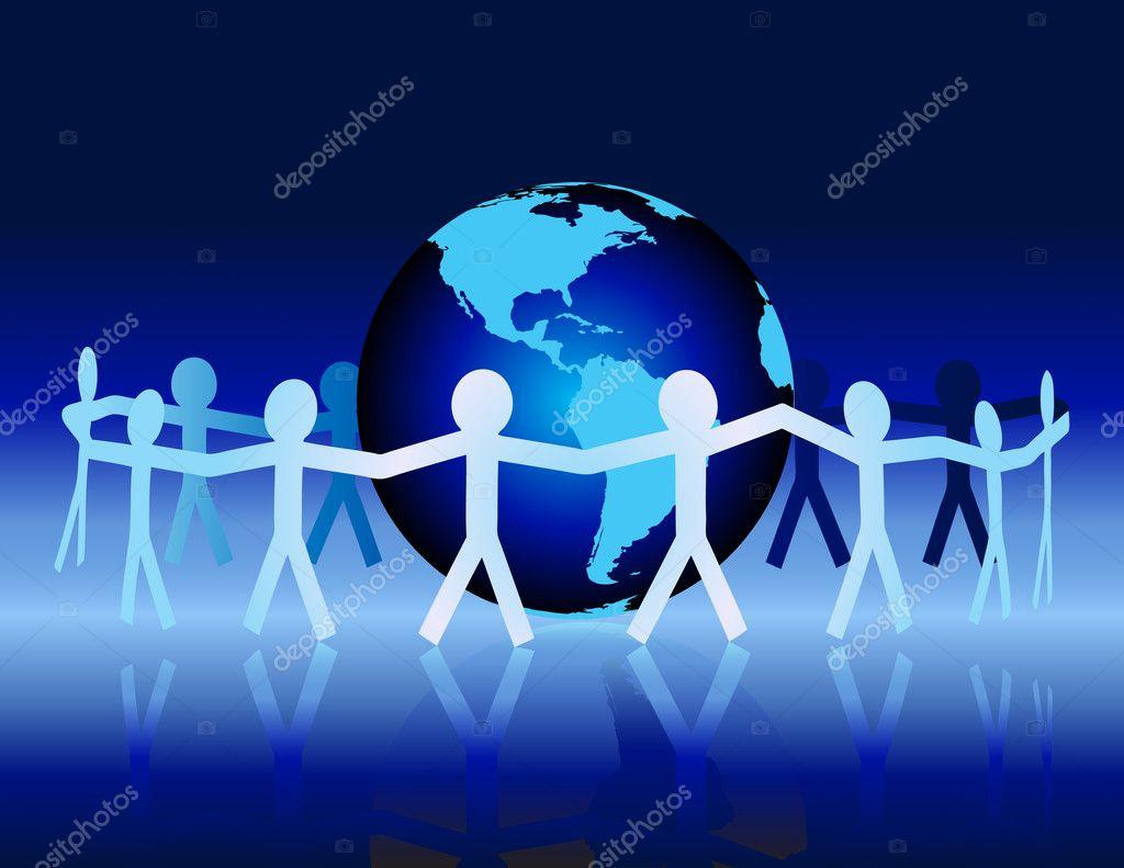 Global Unity — Stock Vector © macropixel #6116310