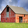 Abandoned Barn - Stock Photo