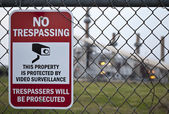 No Trespassing — Stock Photo