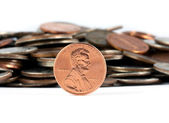 Penny saved is a penny earned — Stock Photo