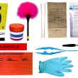 Forensic Kit - Stock Photo