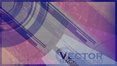 Abstraktní vektor pozadí — Stock vektor