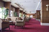 Empty lounge cafe — Stock Photo