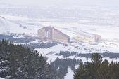 View of Palandoken and Erzurum — Stock Photo