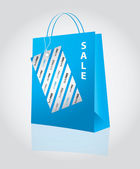 Special shopping bag — Stock Vector