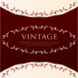 Vintage design - Vector — Stock Vector